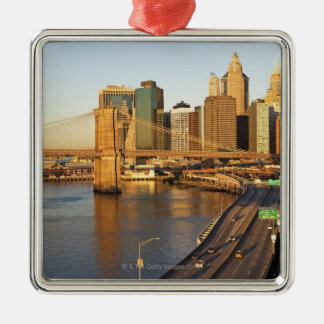 Cityscape Christmas Ornament