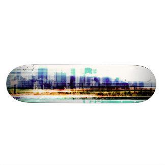 Cityscape Custom Skateboard