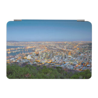 Cityscape From Summit Of Signal Hill At Dusk iPad Mini Cover