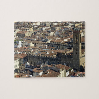 Cityscape from top of cupola of the Duomo Santa Jigsaw Puzzle