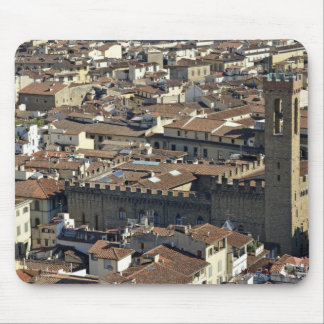 Cityscape from top of cupola of the Duomo Santa Mouse Mat