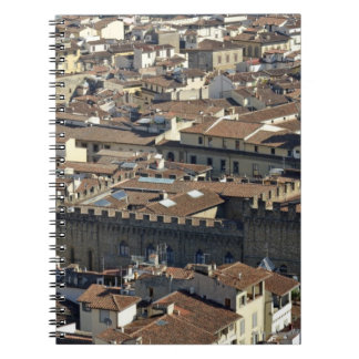 Cityscape from top of cupola of the Duomo Santa Spiral Note Books