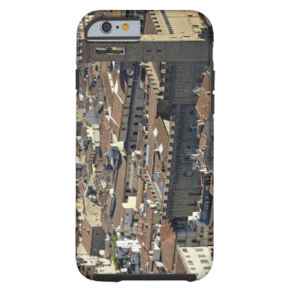 Cityscape from top of cupola of the Duomo Santa Tough iPhone 6 Case