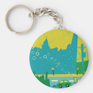 Cityscape Keychains