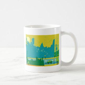 Cityscape Classic White Coffee Mug