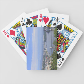 Cityscape of Budapest Bicycle Playing Cards