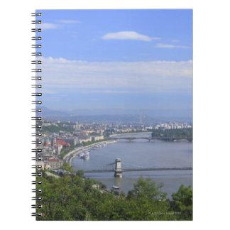 Cityscape of Budapest Notebook