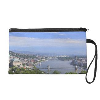 Cityscape of Budapest Wristlet Purse