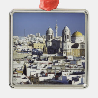 Cityscape of Cadiz, Spain Christmas Ornament