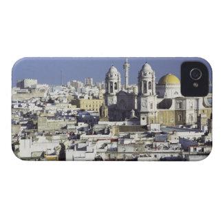 Cityscape of Cadiz, Spain iPhone 4 Case
