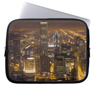 Cityscape of downtown Chicago Laptop Sleeve