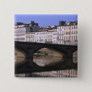 Cityscape of Florence 15 Cm Square Badge