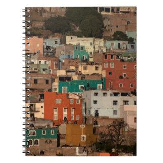 Cityscape Of Guanajuato, Mexico Note Books
