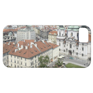 Cityscape of historical Prague, Czech Republic iPhone 5 Covers