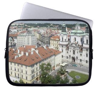 Cityscape of historical Prague, Czech Republic Laptop Sleeve