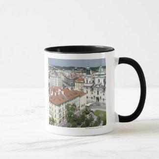 Cityscape of historical Prague, Czech Republic Mug
