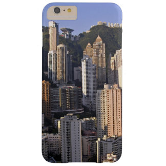 Cityscape of Hong Kong, China Barely There iPhone 6 Plus Case