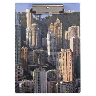 Cityscape of Hong Kong, China Clipboard