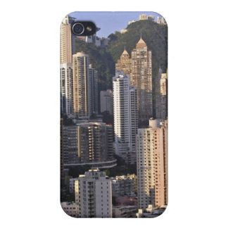 Cityscape of Hong Kong, China iPhone 4 Covers