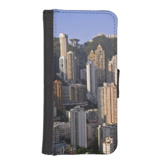 Cityscape of Hong Kong, China iPhone SE/5/5s Wallet Case