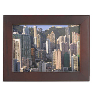 Cityscape of Hong Kong, China Keepsake Box