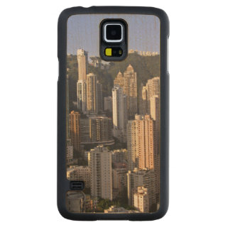 Cityscape of Hong Kong, China Maple Galaxy S5 Case