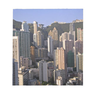 Cityscape of Hong Kong, China Notepad