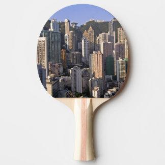 Cityscape of Hong Kong, China Ping Pong Paddle