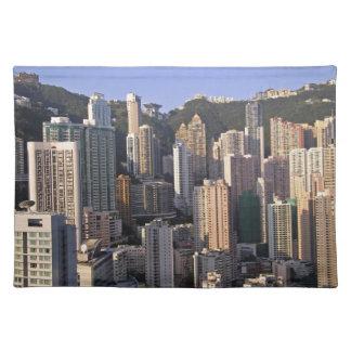 Cityscape of Hong Kong, China Placemat