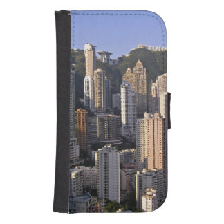 Cityscape of Hong Kong, China Samsung S4 Wallet Case