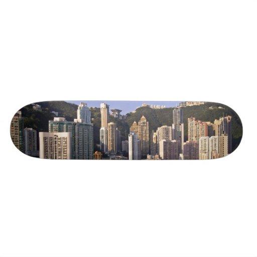 Cityscape of Hong Kong, China Skate Board Decks