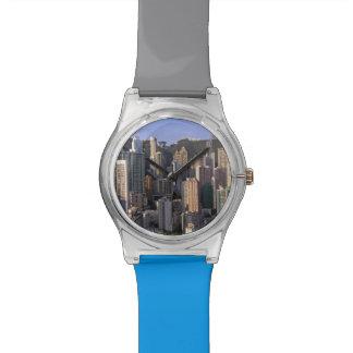 Cityscape of Hong Kong, China Watches