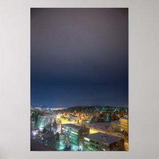 Cityscape of Lahti Poster