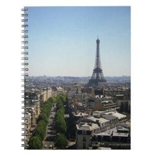 Cityscape of Paris, France Notebook