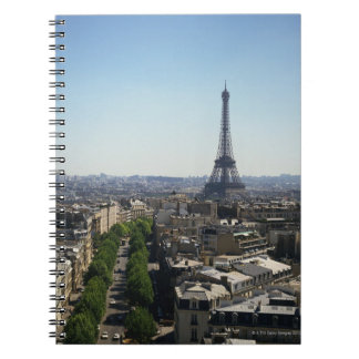 Cityscape of Paris, France Notebooks