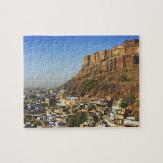 Cityscape of the Blue City with Meherangarh, the Jigsaw Puzzle
