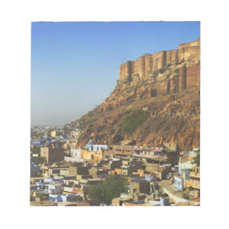 Cityscape of the Blue City with Meherangarh, the Notepad