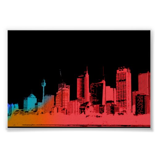 cityscape posters
