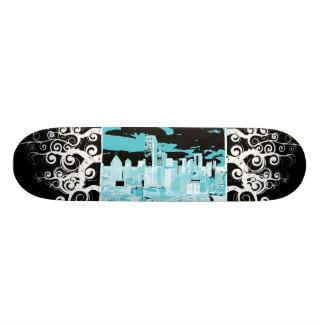 Cityscape Custom Skate Board