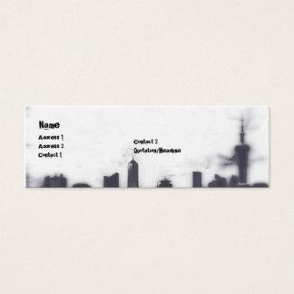 Cityscape - Skinny Mini Business Card