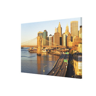 Cityscape Stretched Canvas Print