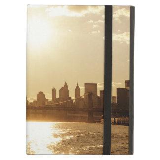 Cityscape Sunset over the New York Skyline iPad Cover