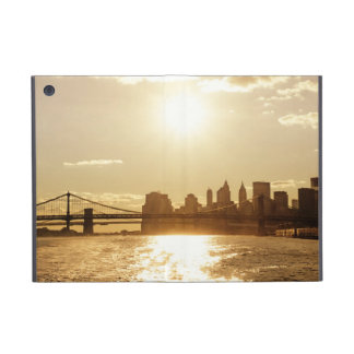 Cityscape Sunset over the New York Skyline Cover For iPad Mini