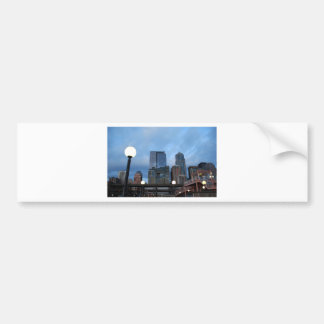 CityscapeEvening041609 Bumper Sticker