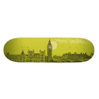 Cityscapes - London City 19.7 Cm Skateboard Deck