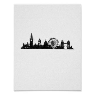 Cityscapes: London Poster