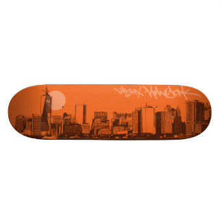 Cityscapes - New York City 21.3 Cm Mini Skateboard Deck
