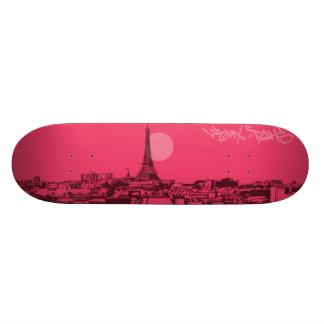 Cityscapes - Paris City Skateboard Deck