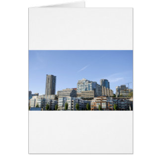 CitySkylineb051709 Greeting Card