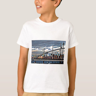 CityView Art - Staten Island Manhattan Skyscrapers T-Shirt